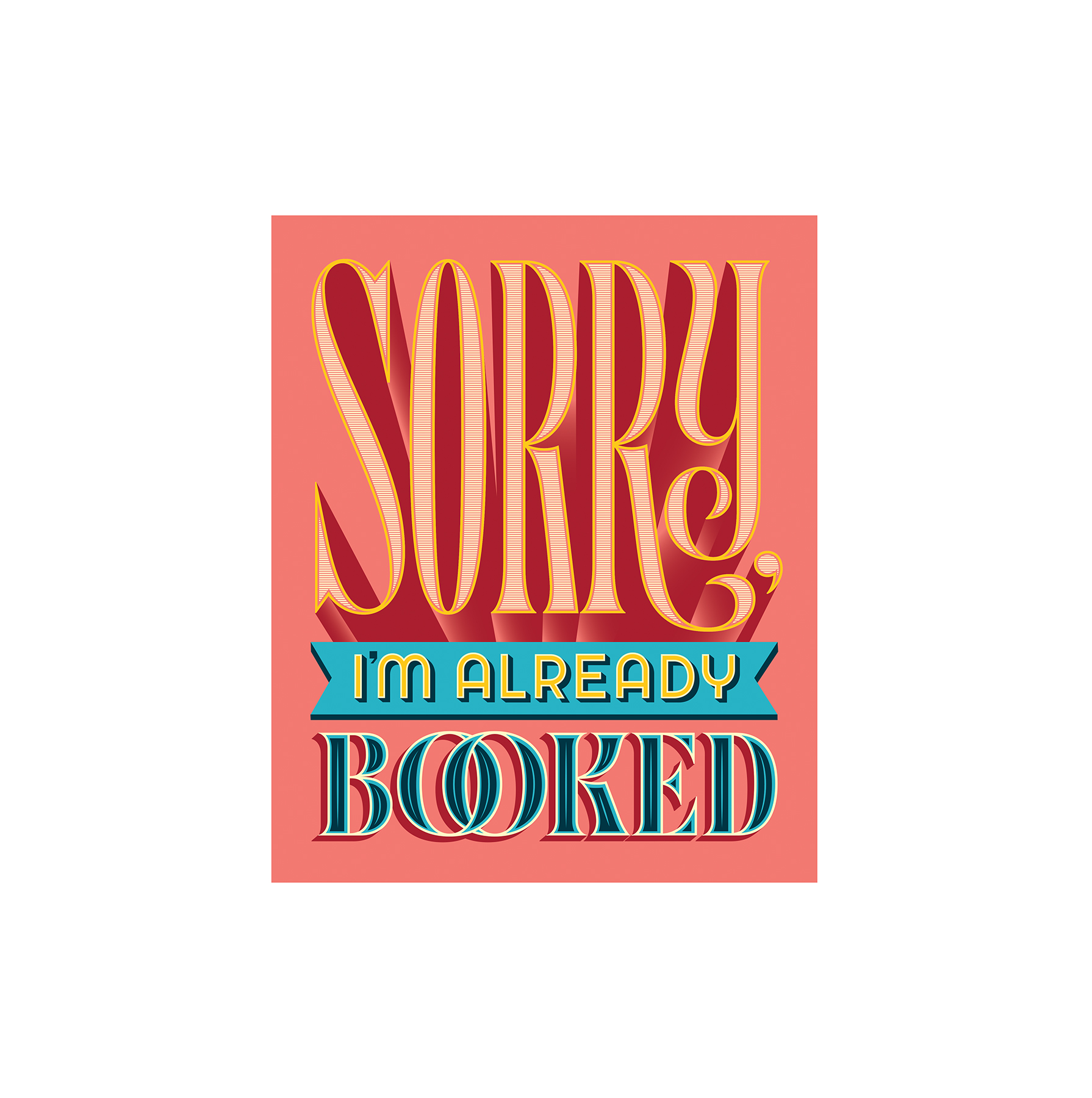 Illustration: Sorry already booked