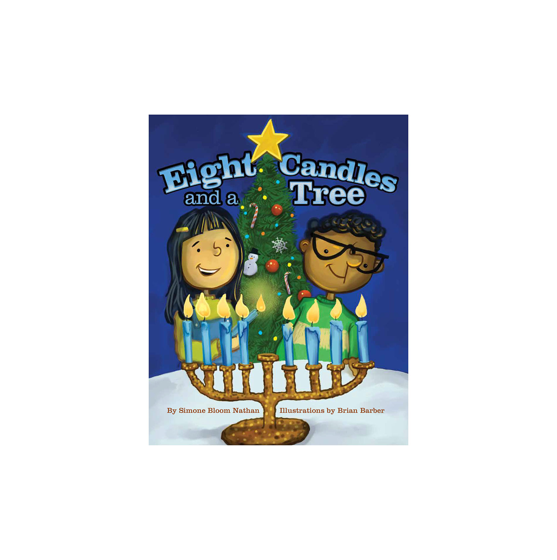 Eight Candles and a Tree, by Simone Bloom Nathan