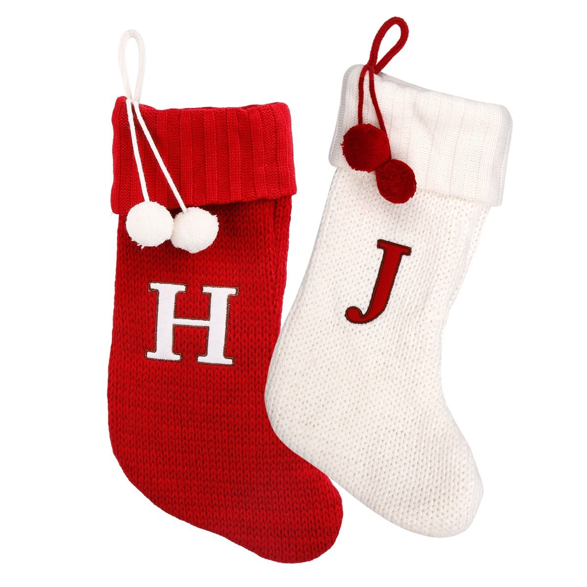 Monogram Knit Stocking
