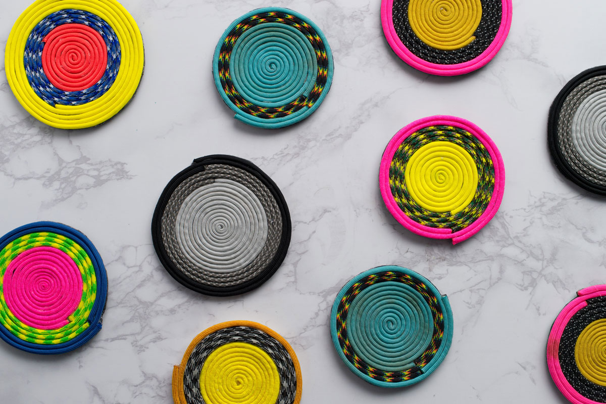 Party-Ready Paracord Coasters