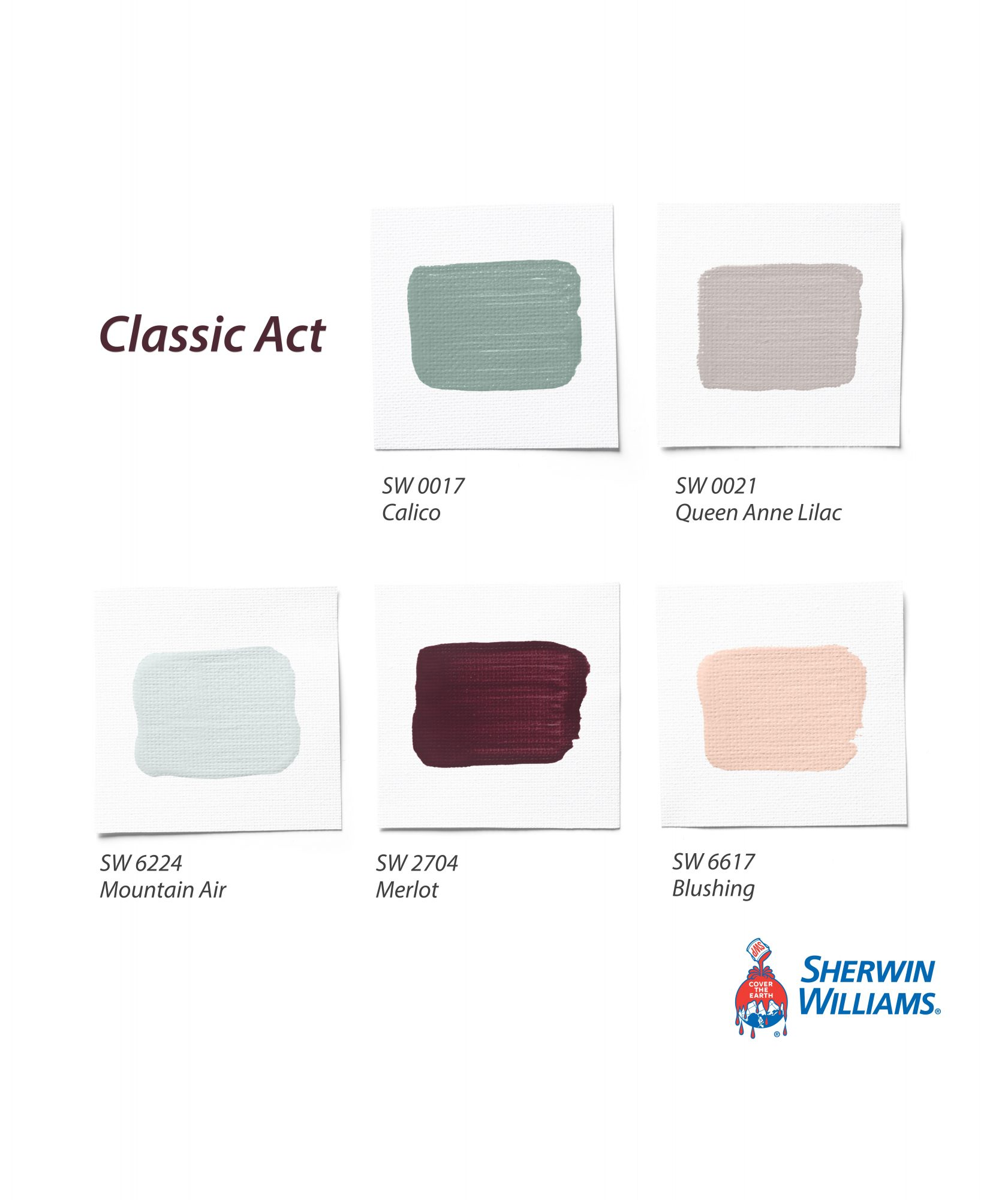 Classic Act Palette