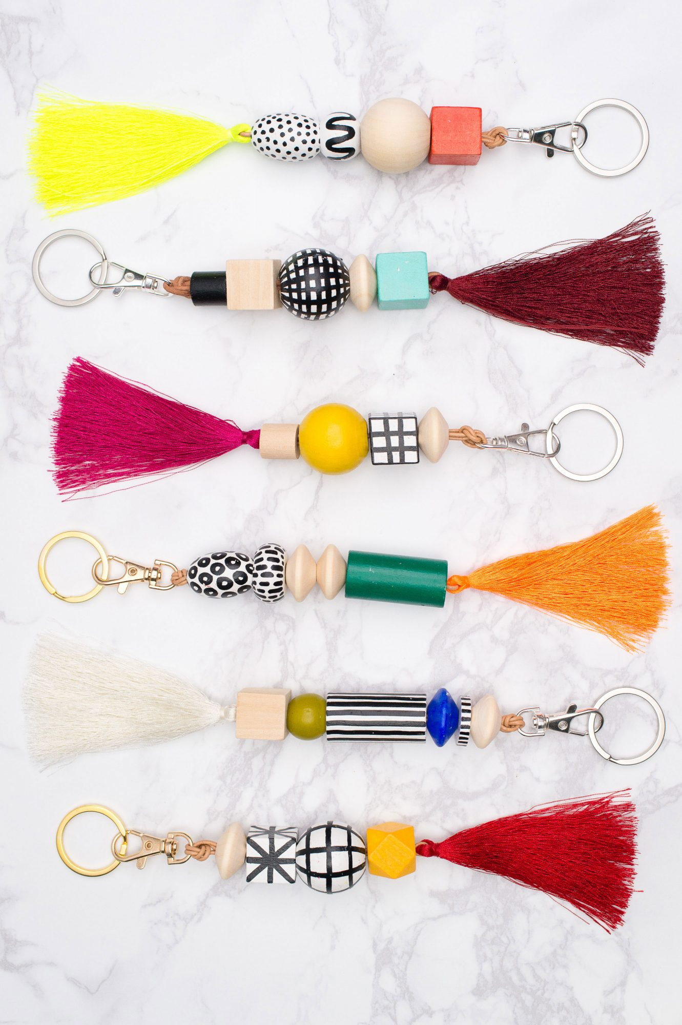 wood-bead-keychain