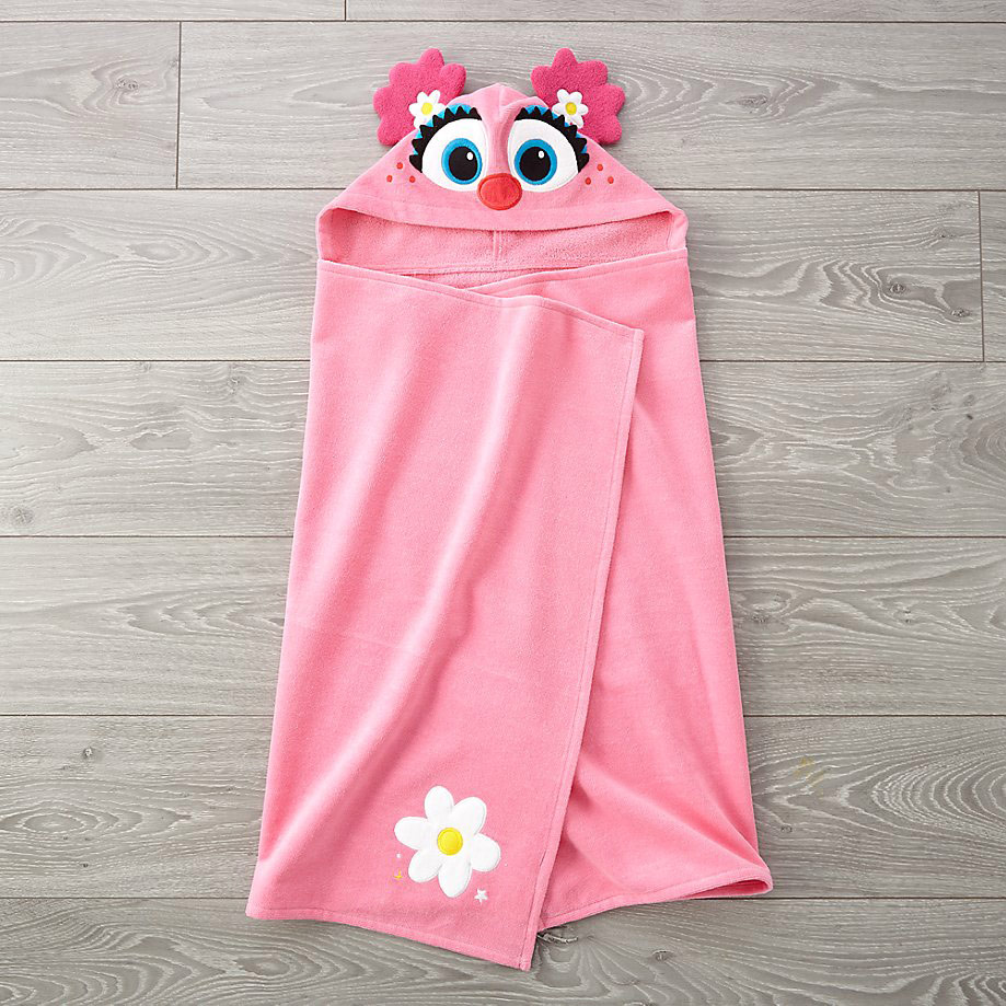 Sesame Street Abby Cadabby Hooded Towel