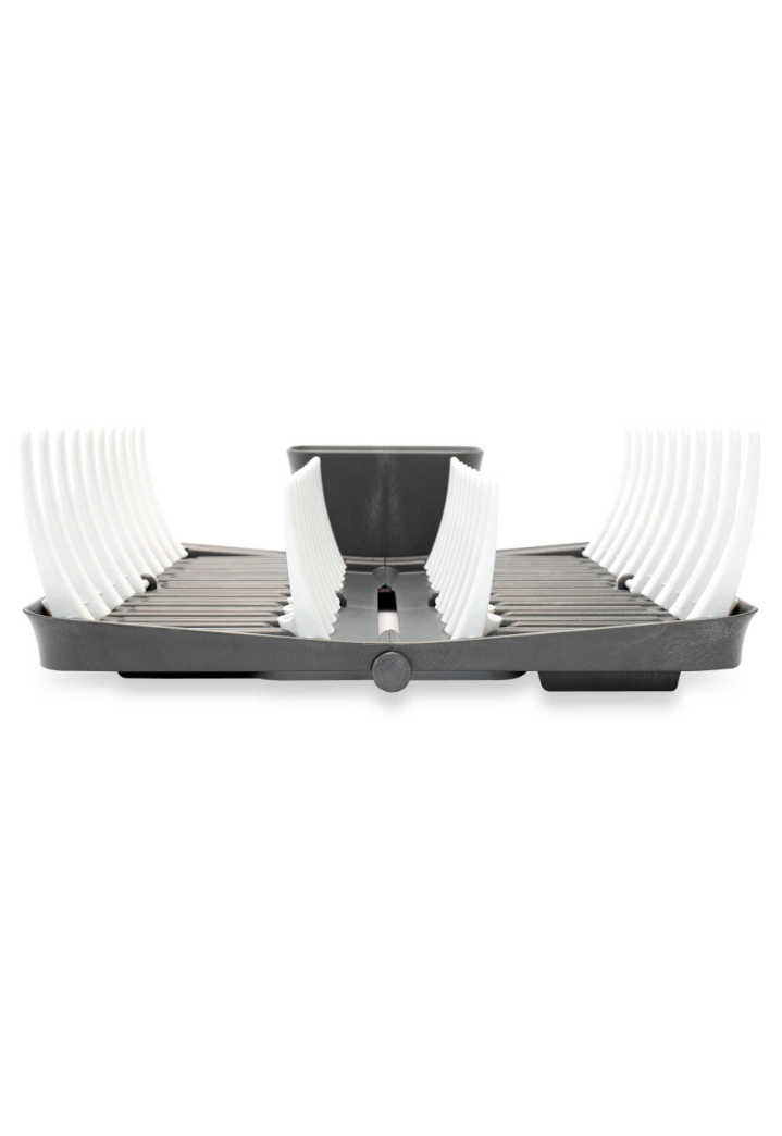 Adjustable & Foldable Dish Rack