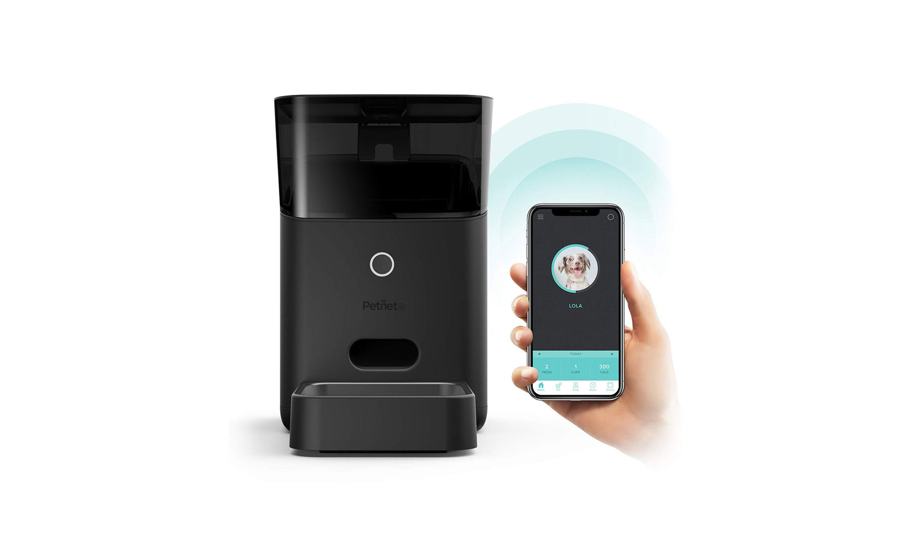 Arf Pets Automatic Pet Feeder and Dispenser (Amazon Alexa Compatible Products)