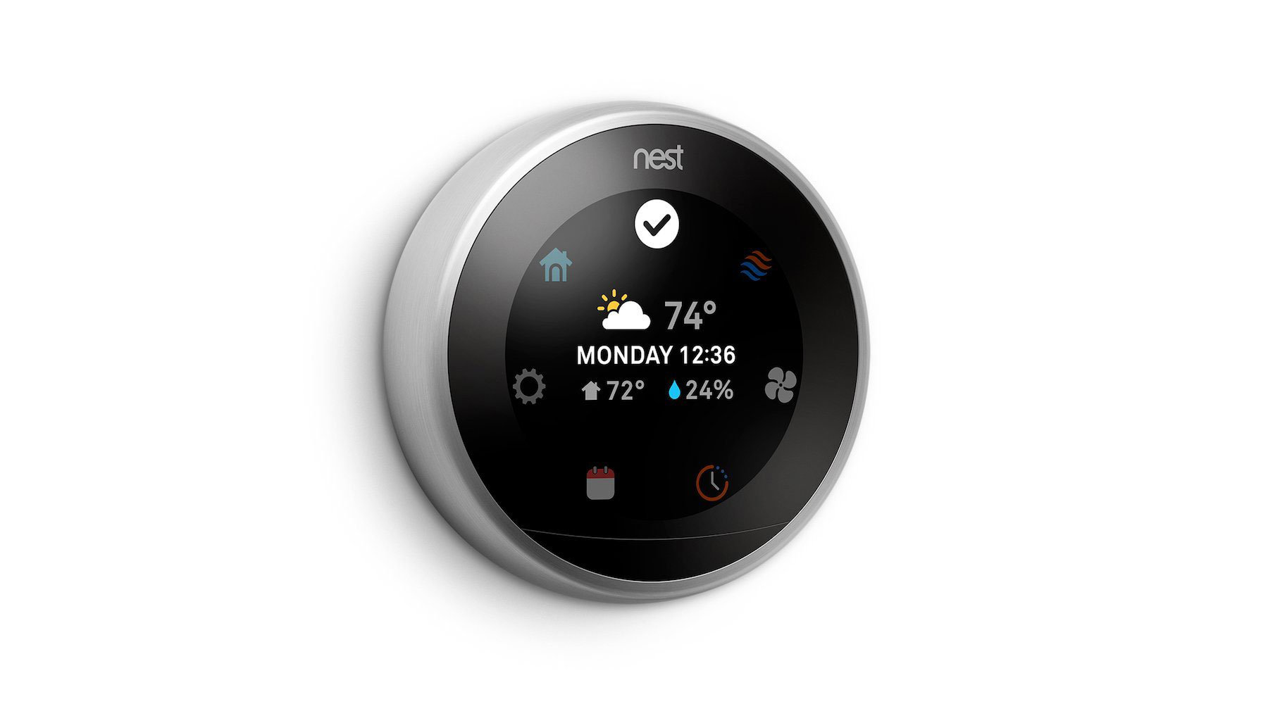 Nest Learning Thermostat (Third Generation) (Amazon Alexa Compatible Products)