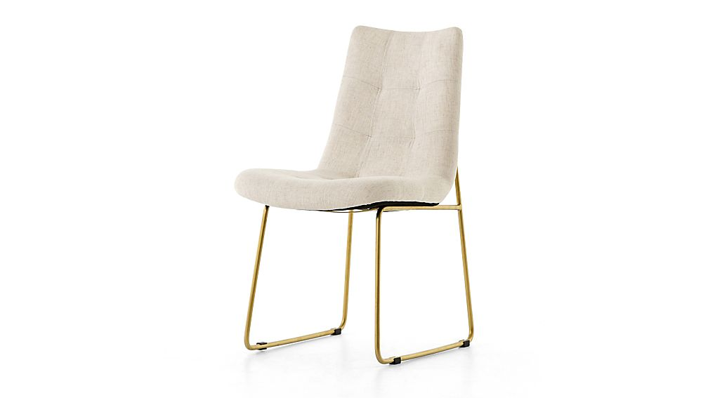 Alice Savile Natural Tufted Dining Chair