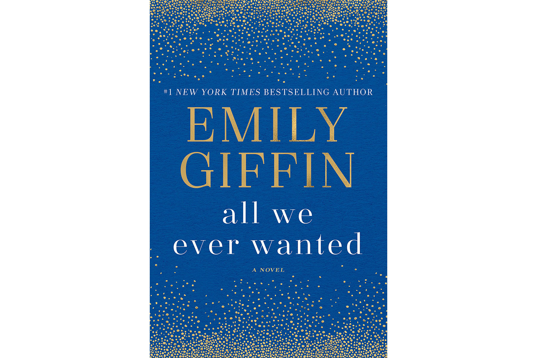 Airplane Books All We Ever Wanted, by Emily Giffin