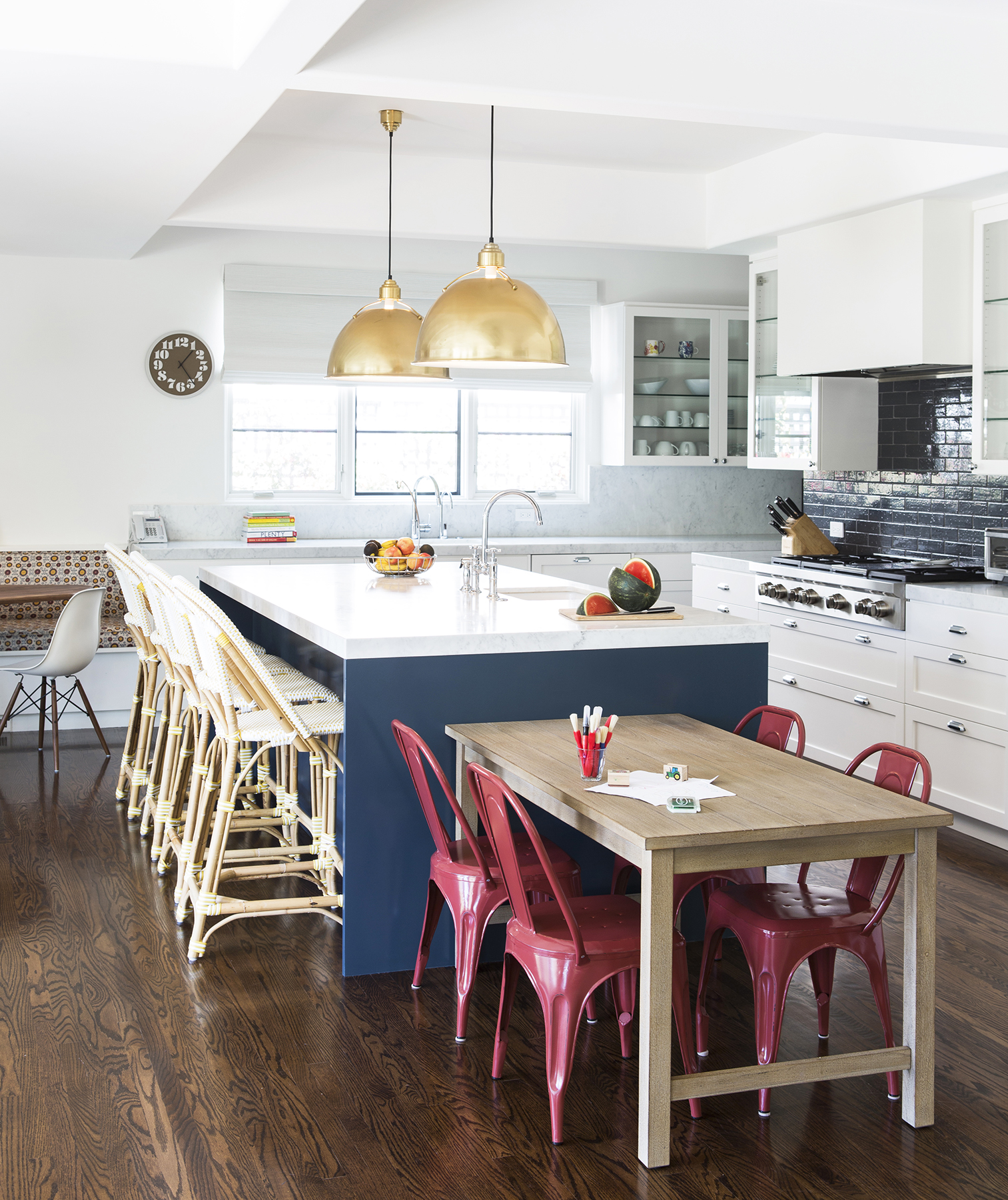 Family-Friendly Kitchen Island