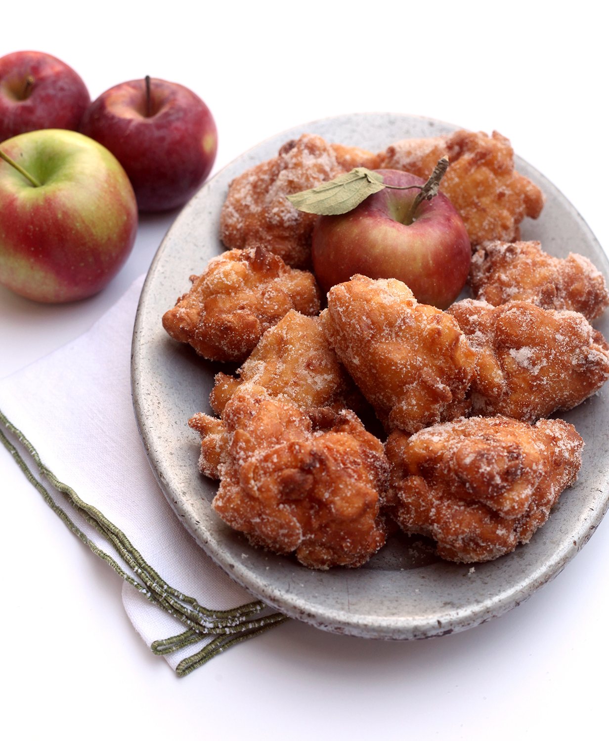 Apple and Cheddar Fritters