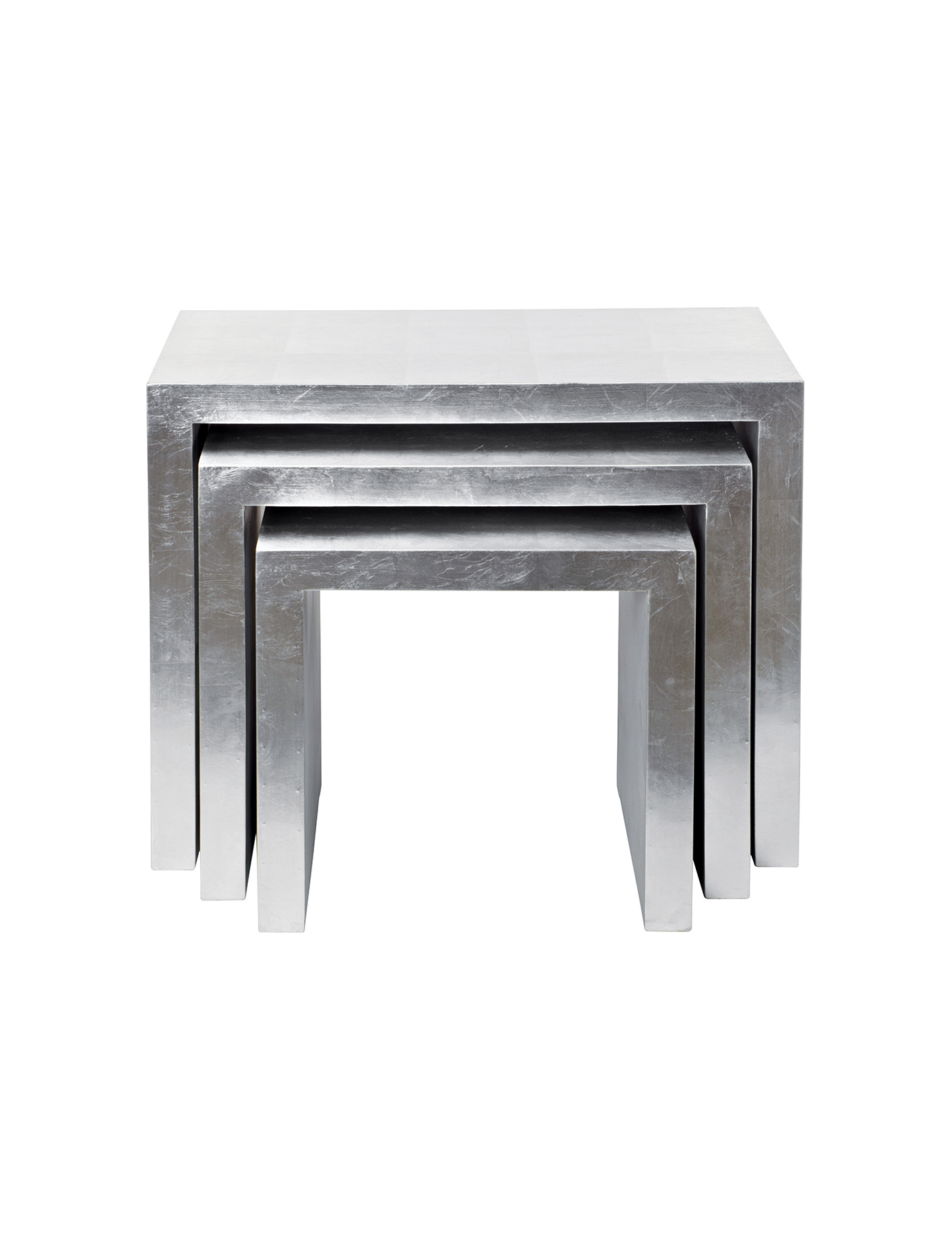 Astair metal nesting tables