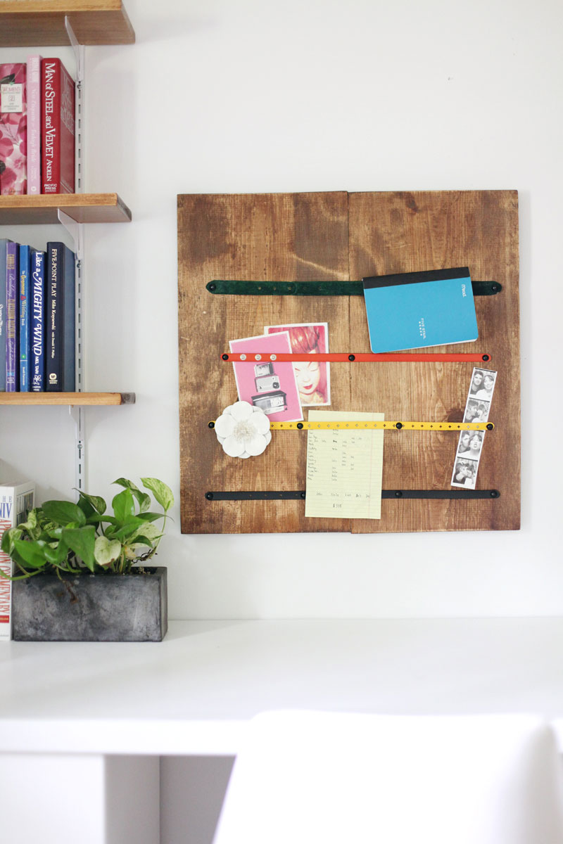 9 clever diy ways to organize your desk real simple for How to organize your desk diy