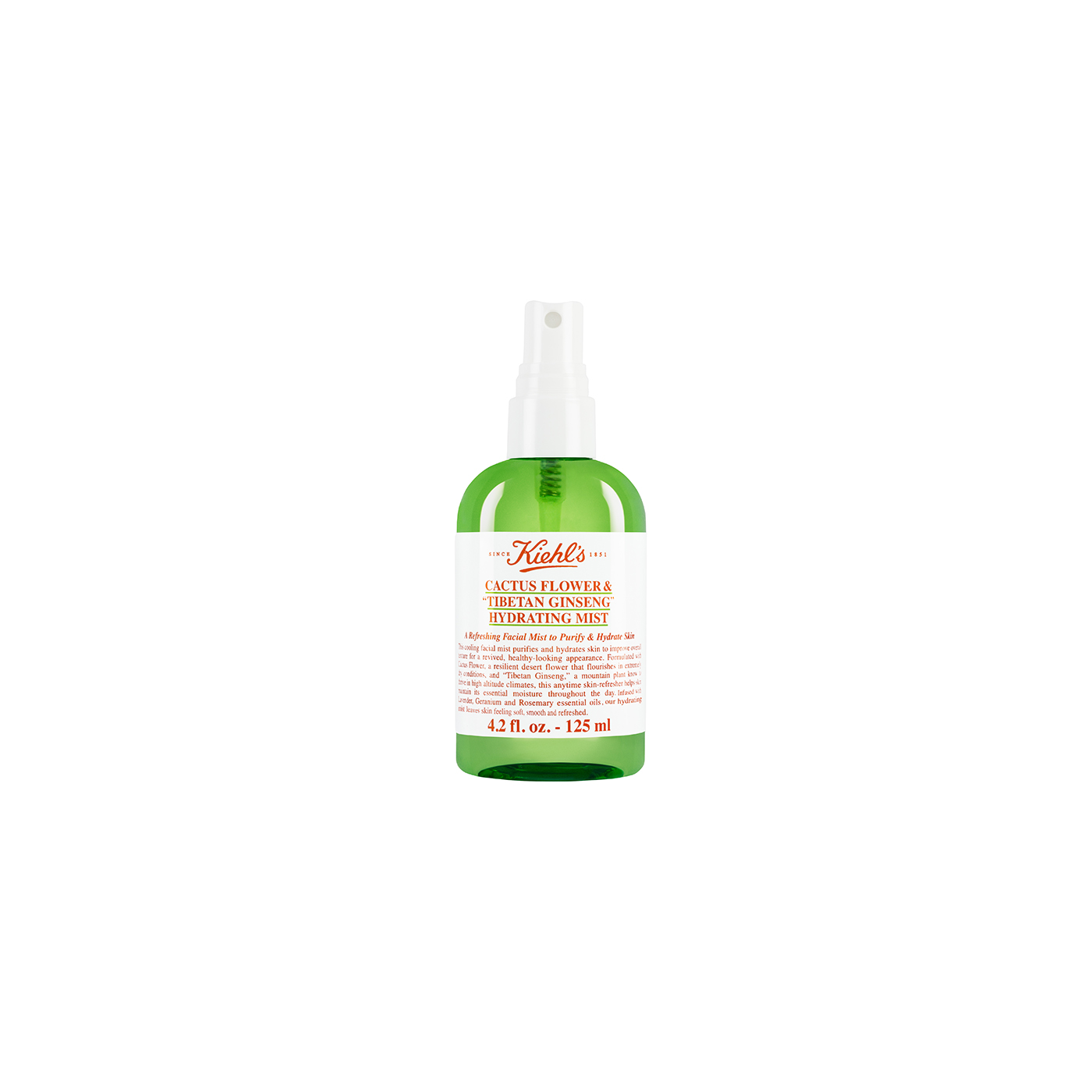 Kiehls Cactus Flower and Tibetan Ginseng Hydrating Mist
