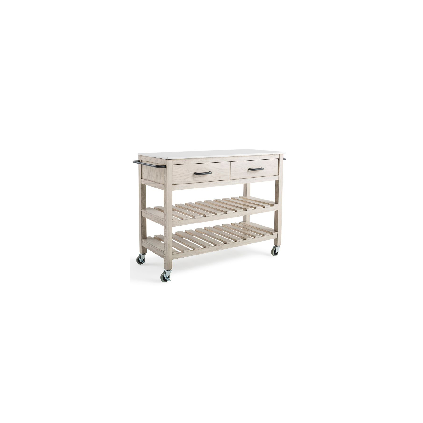 Bee & Willow Home Wood Kitchen Cart