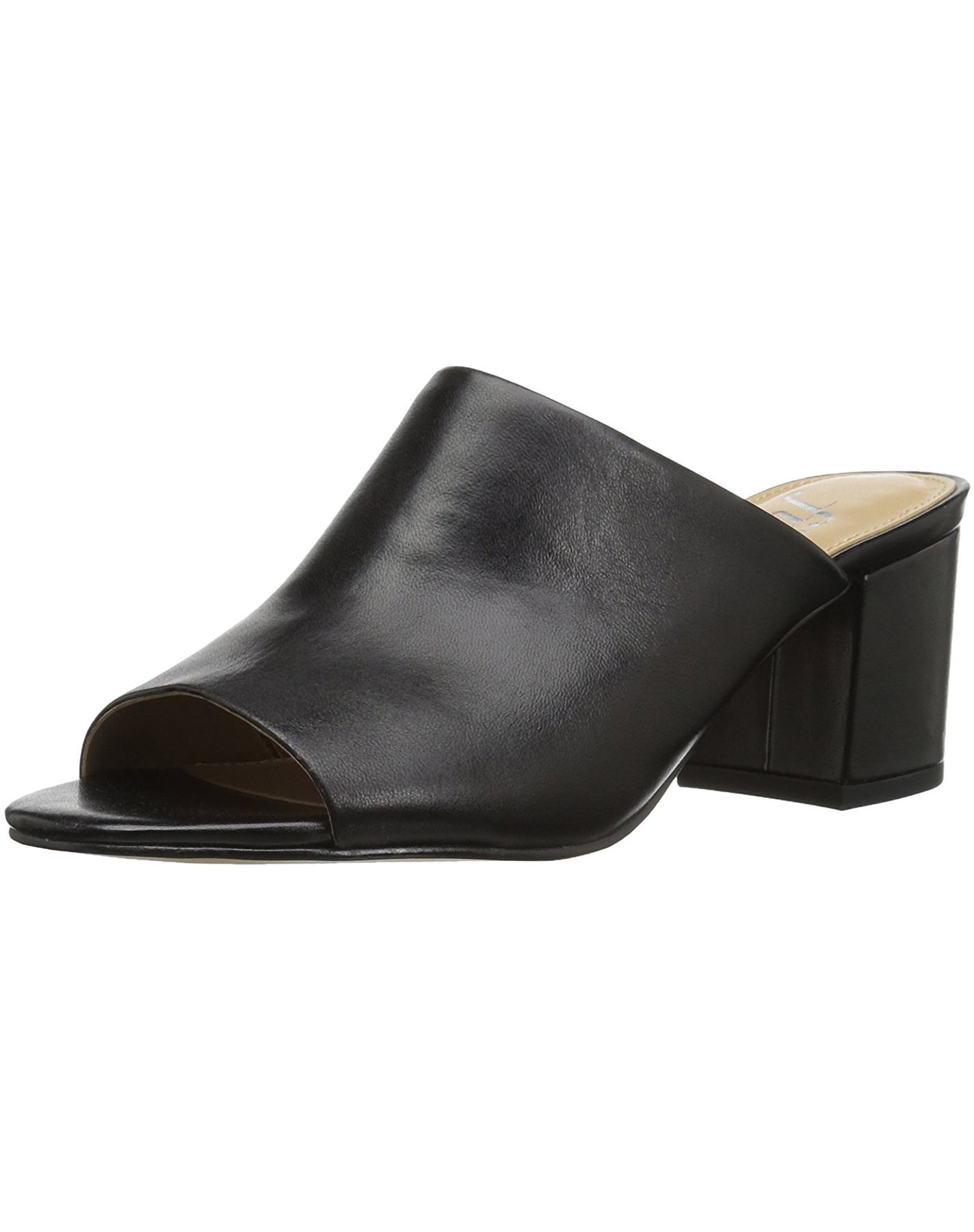 Womens Bella Block Heel Mule