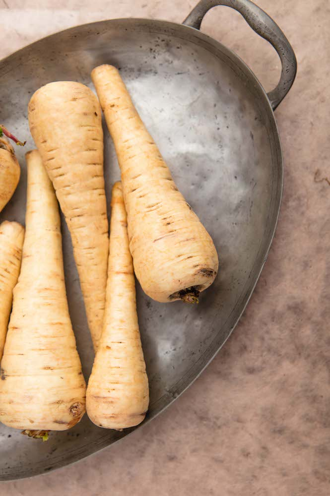 Winter Produce: Parsnips