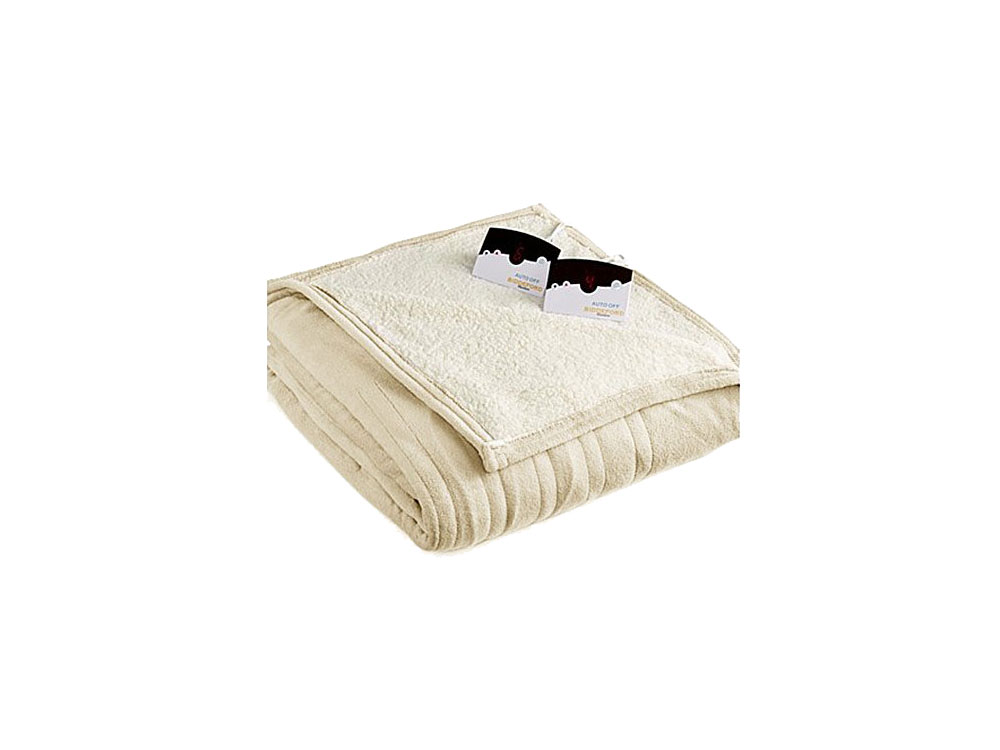 Biddeford MicroPlush Sherpa Electric Heated Blanket (Amazon Customers Heated Blankets)