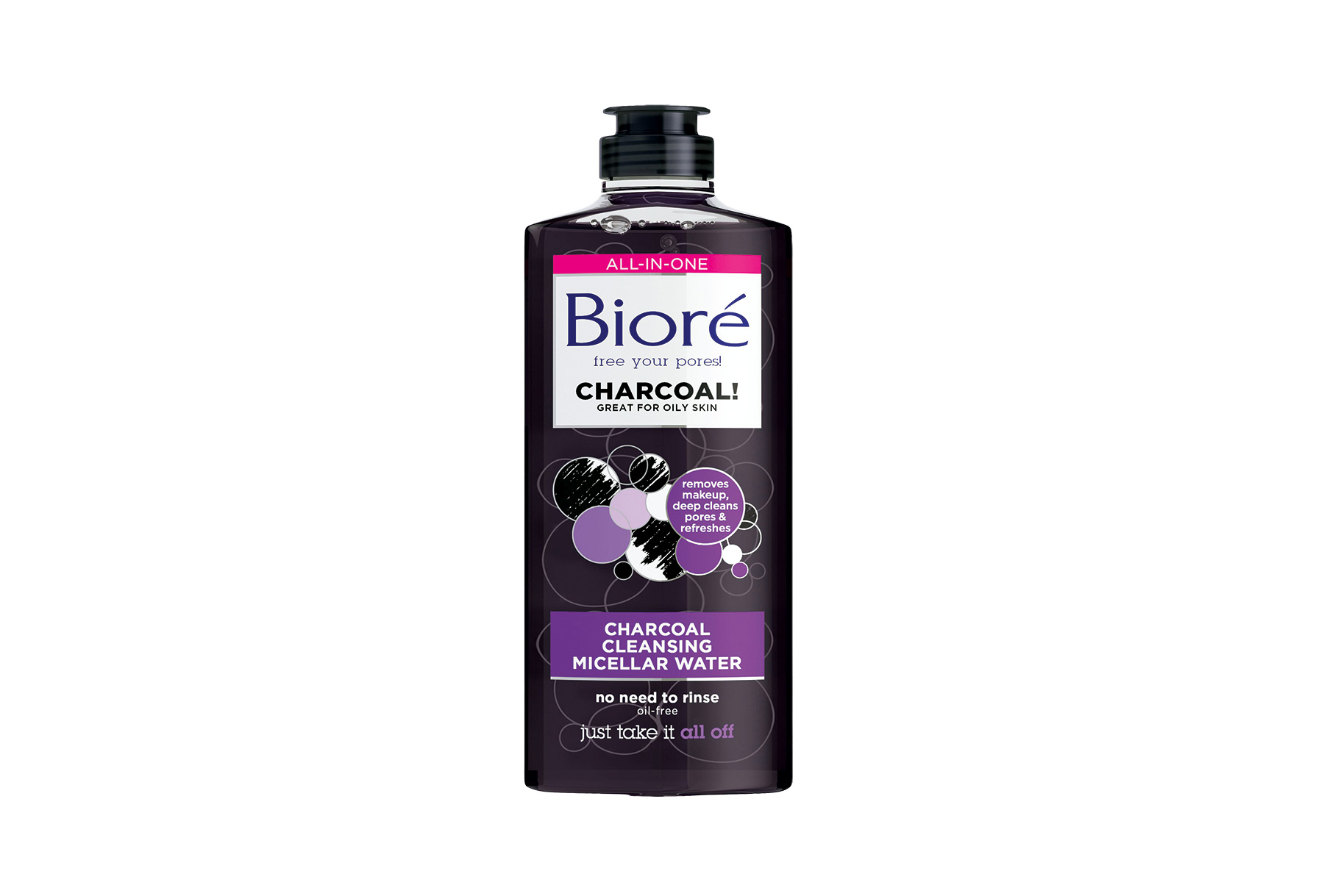 Bioré Charcoal Cleansing Micellar Water  (0718BPS)