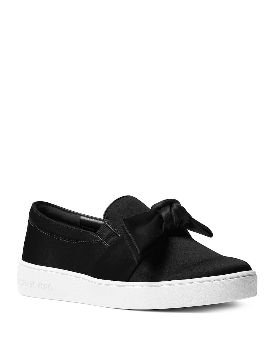 Michael Kors Satin Sneakers