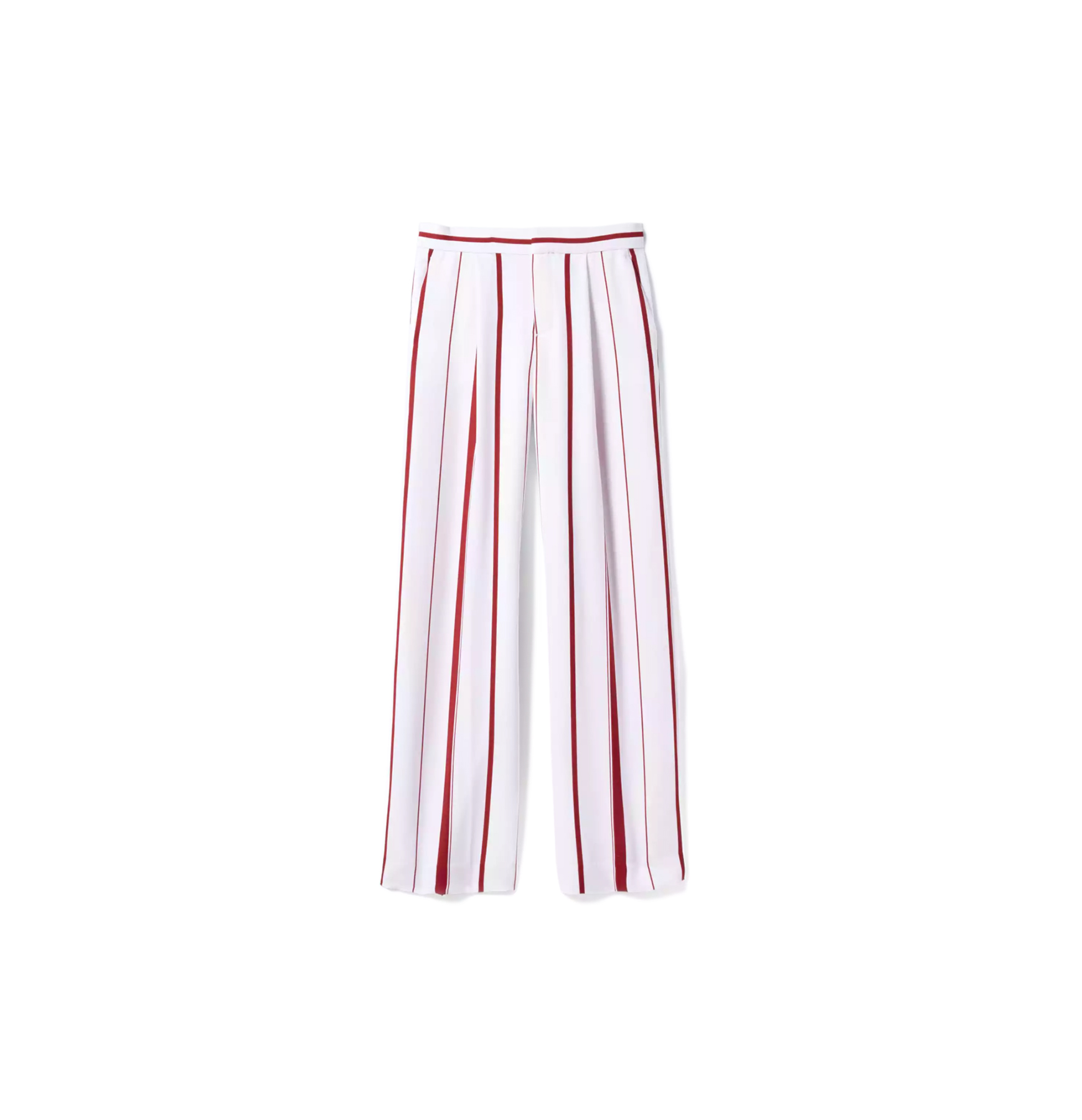 Blake-Fit Stripe Wide-Leg Pant