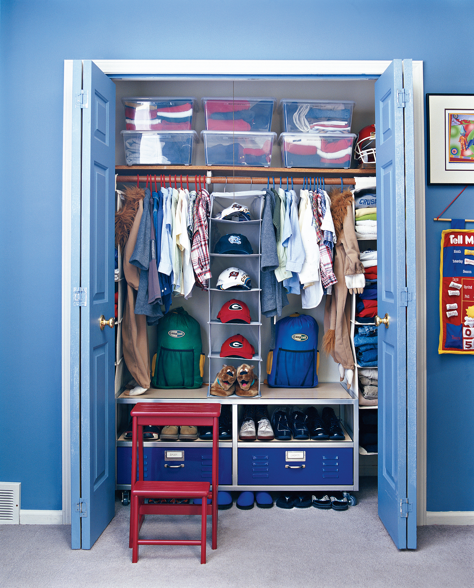 7 Smart Ways to Organize Your Kid\'s Closet | Real Simple