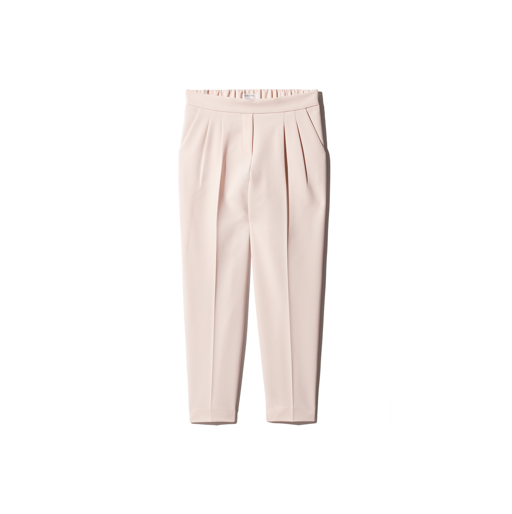 Blush-Hued Trousers