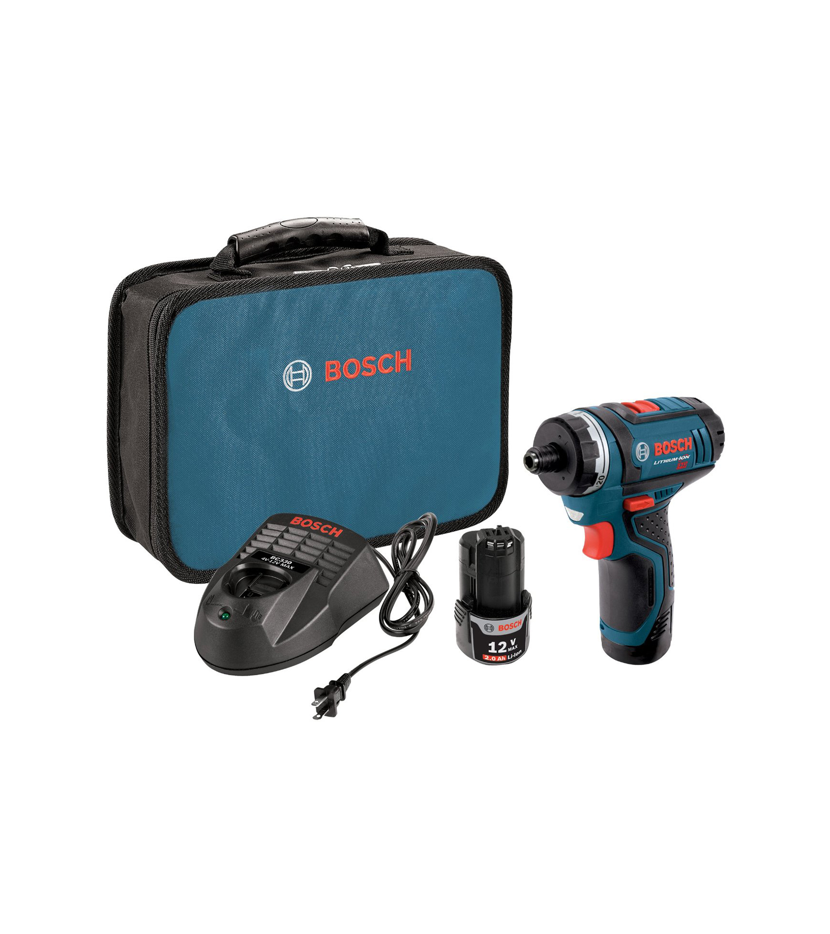 Bosch PS21 Drill with 12-Year Lithium-Ion Battery