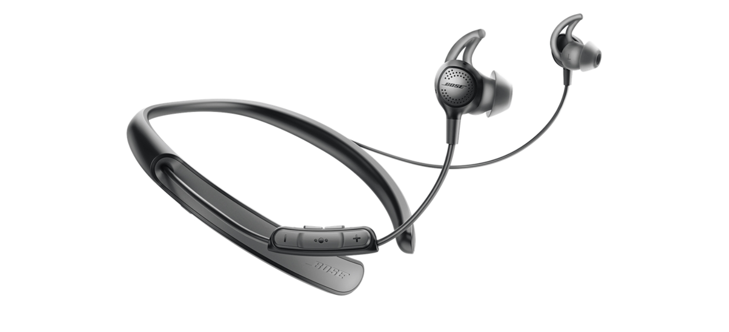 Bose QuietControl noise-canceling, wireless earbuds