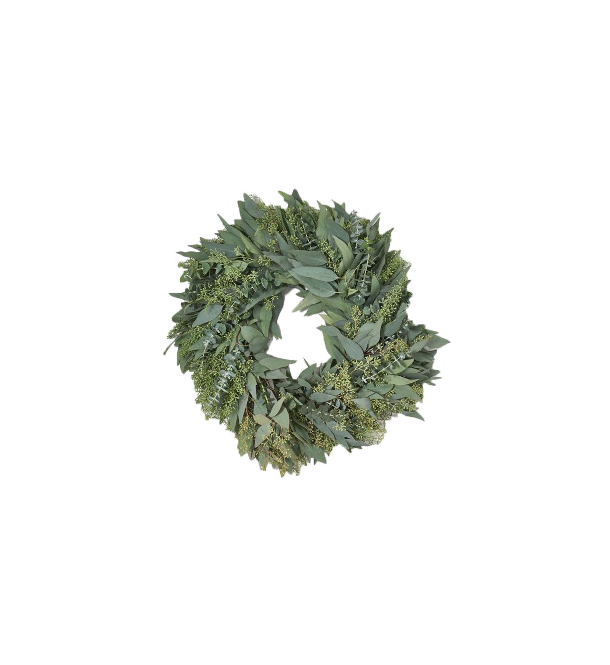 Thanksgiving wreaths The Bouqs Co. Hearth Eucalyptus Wreath