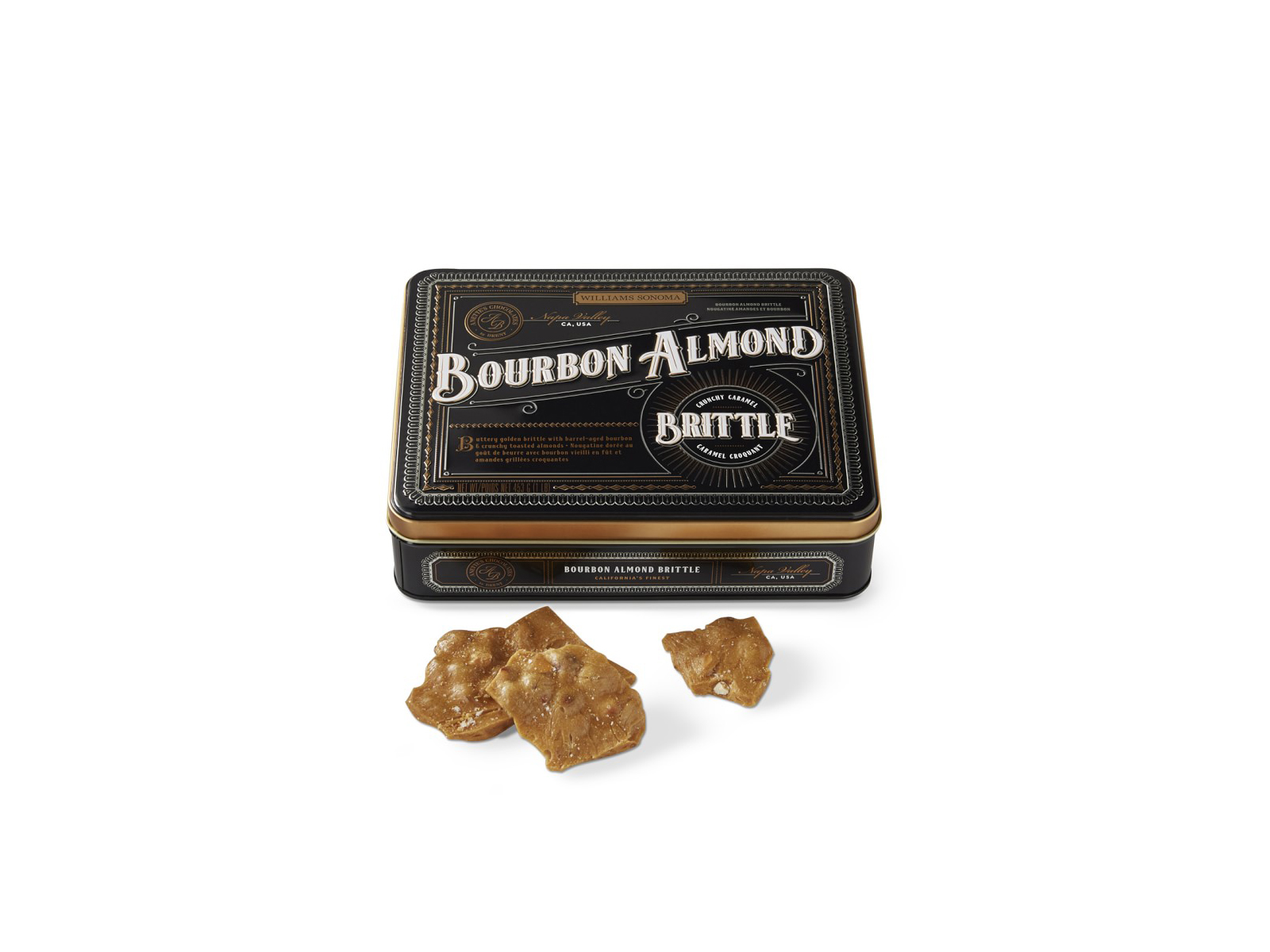 Bourbon Almond Brittle (The Best of Williams Sonoma Holiday)