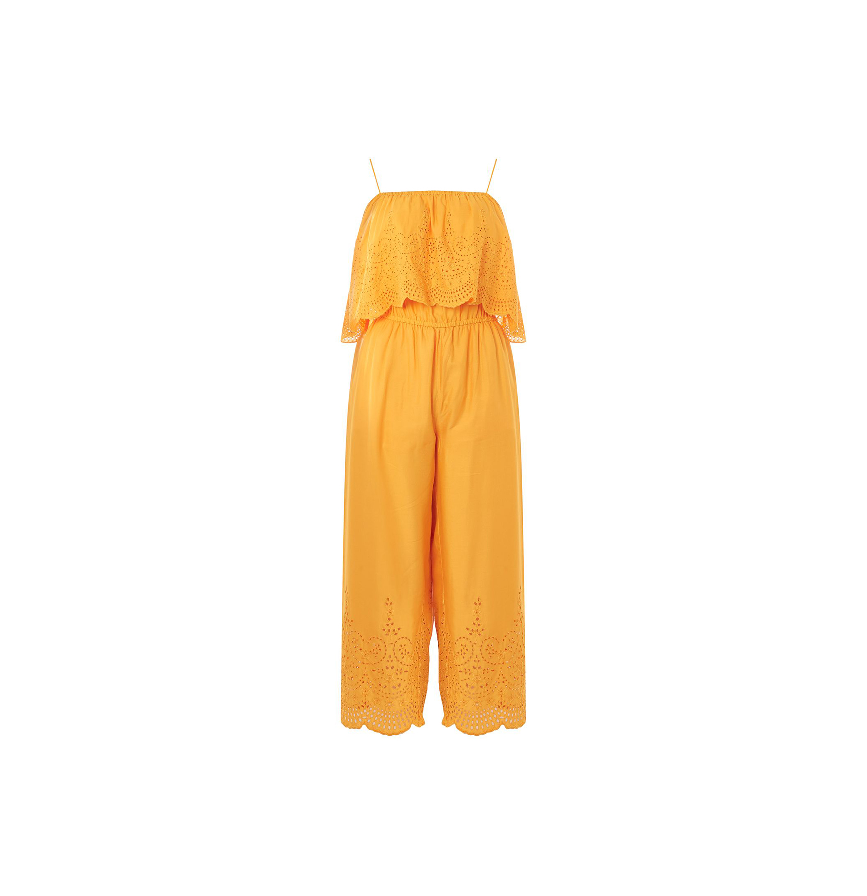 Topshop Broderie Anglaise Jumpsuit