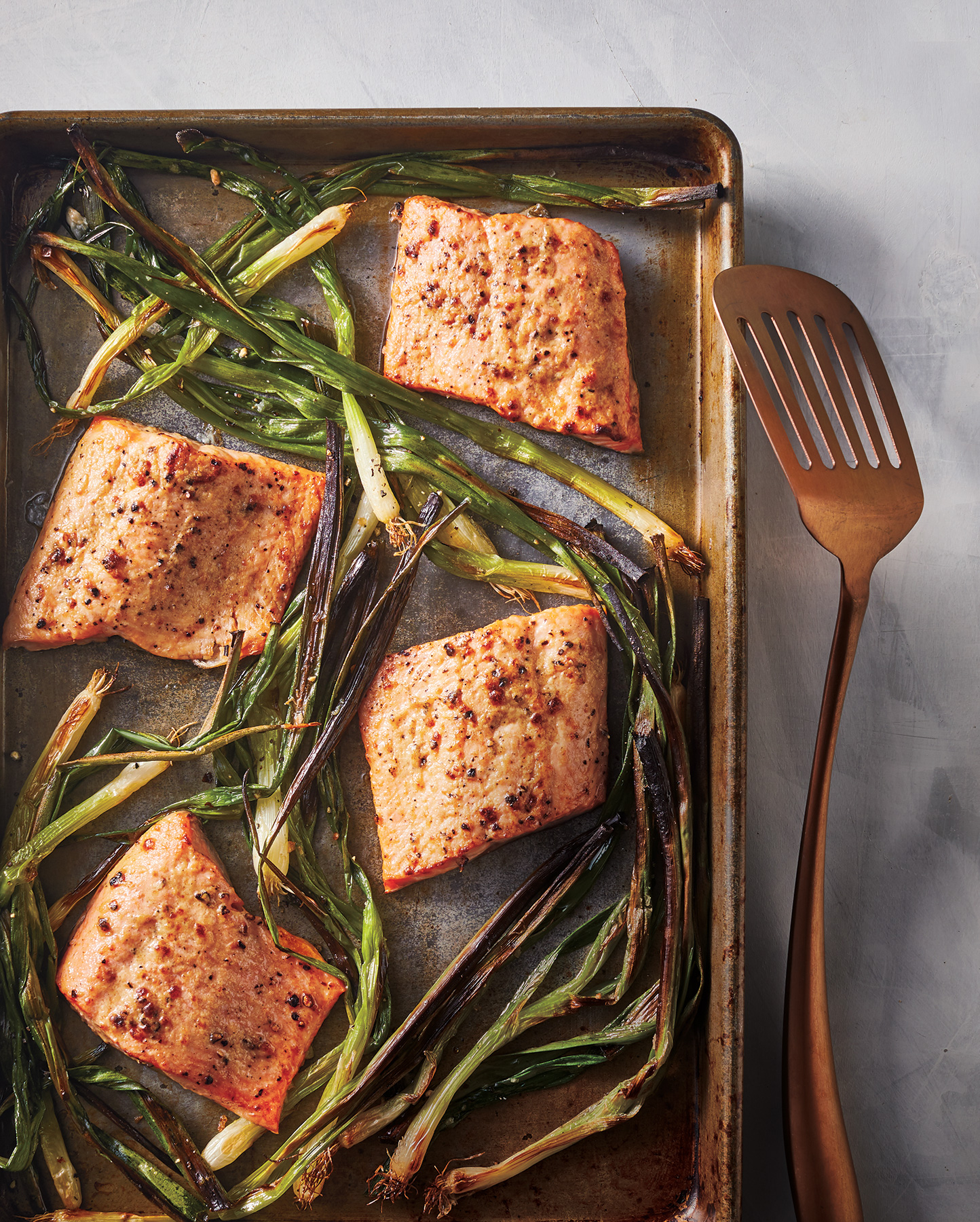 Broiled Arctic Char With Sesame-Ginger Mustard