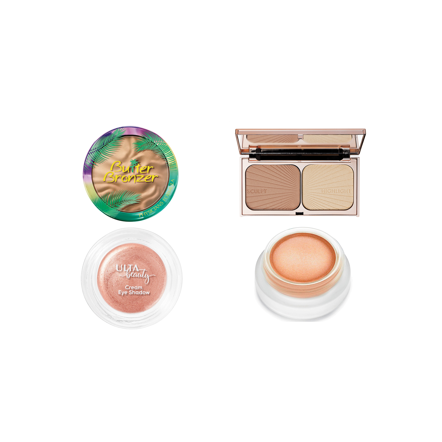 Bronzed Skin + Copper Lids Products (0818BTY)