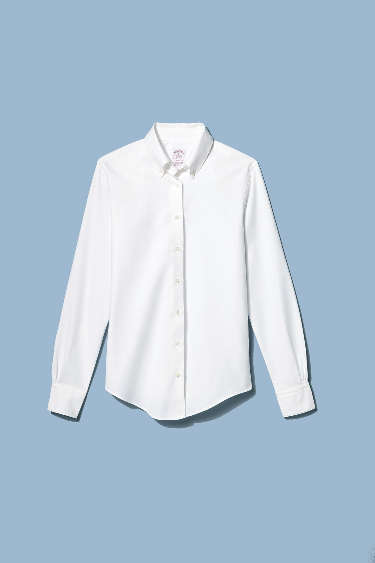 Brooks Brothers Classic-Fit Supima Cotton Oxford Button-Down Shirt (0618FAS)