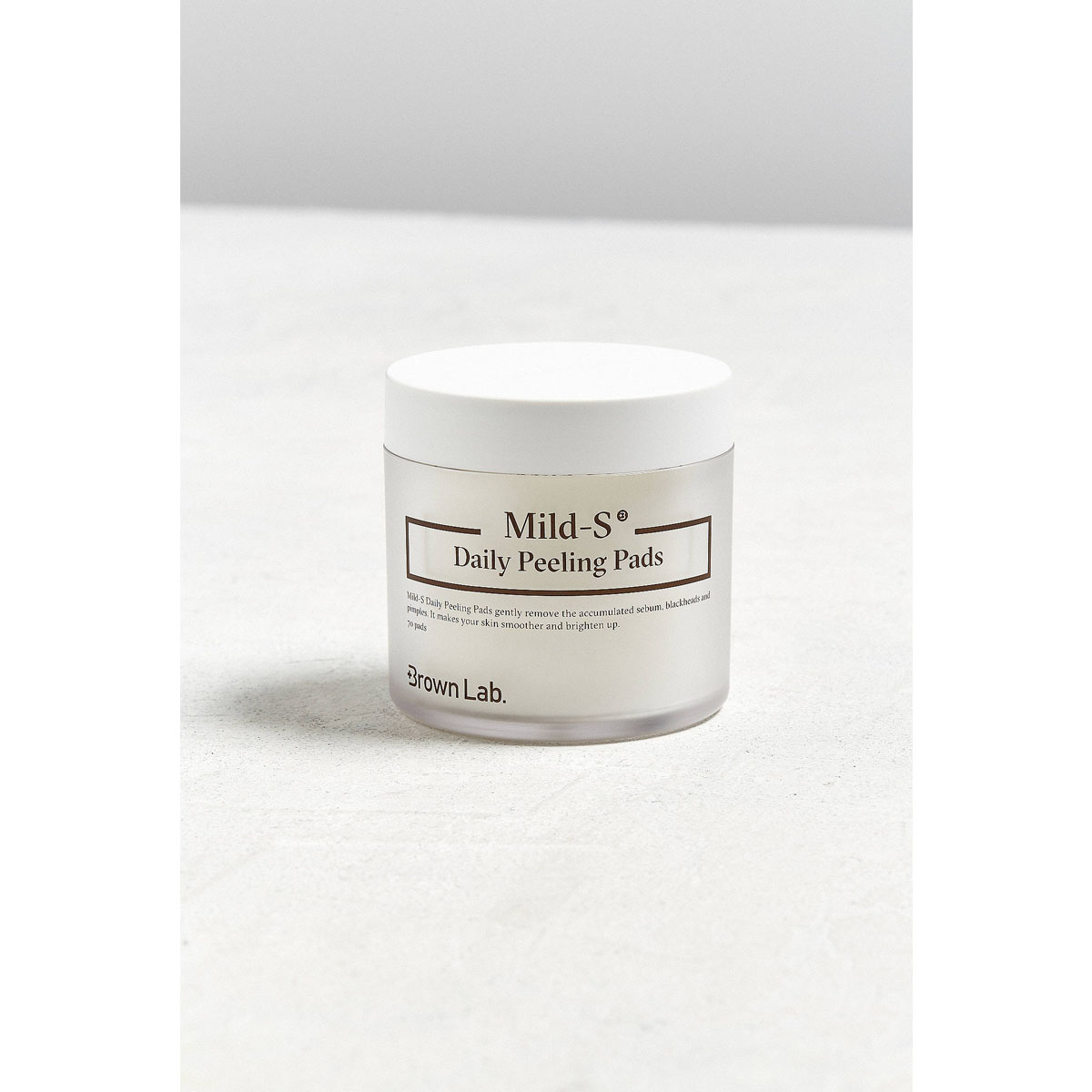 Brown Lab Mild-S Daily Peeling Pads