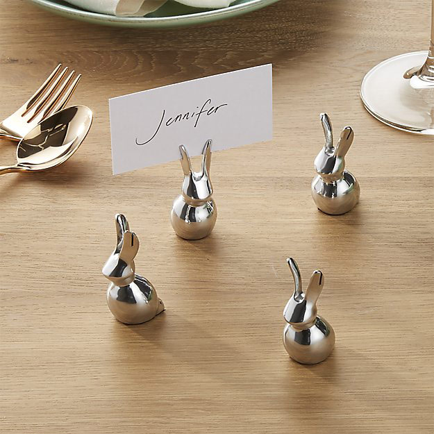 Easter Bunny Place Card Holder