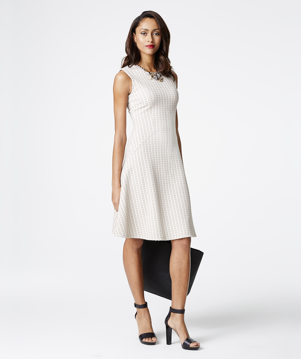 textured-calvin-klein-dress