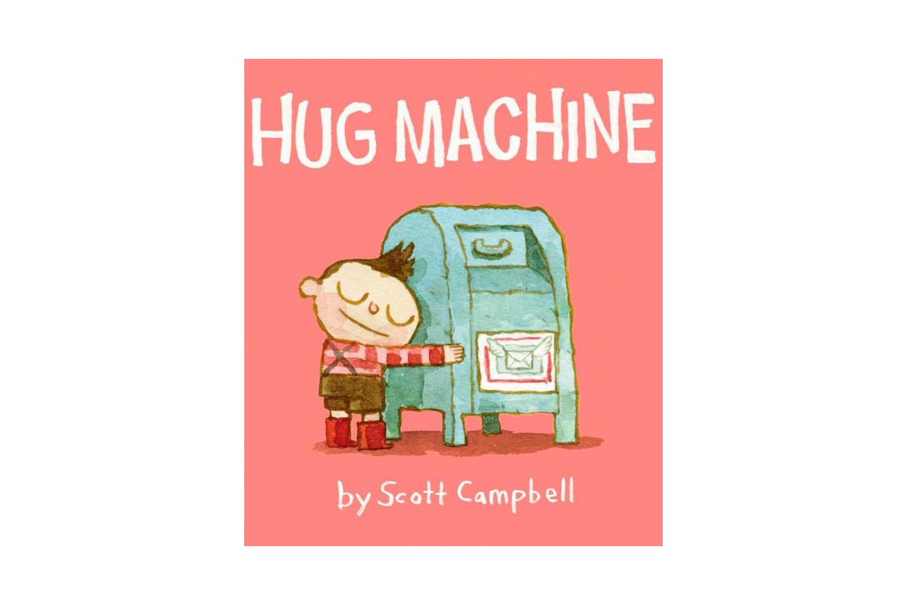 Hug Machine, by Scott Campbell