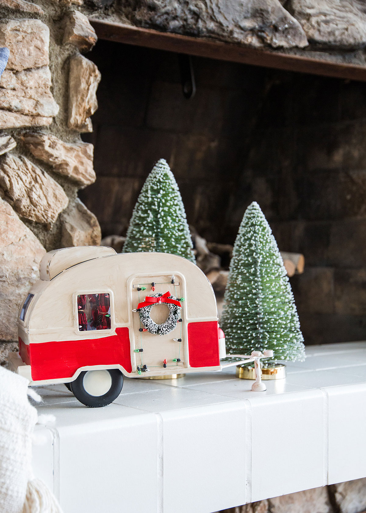 Camper Van Christmas Decor