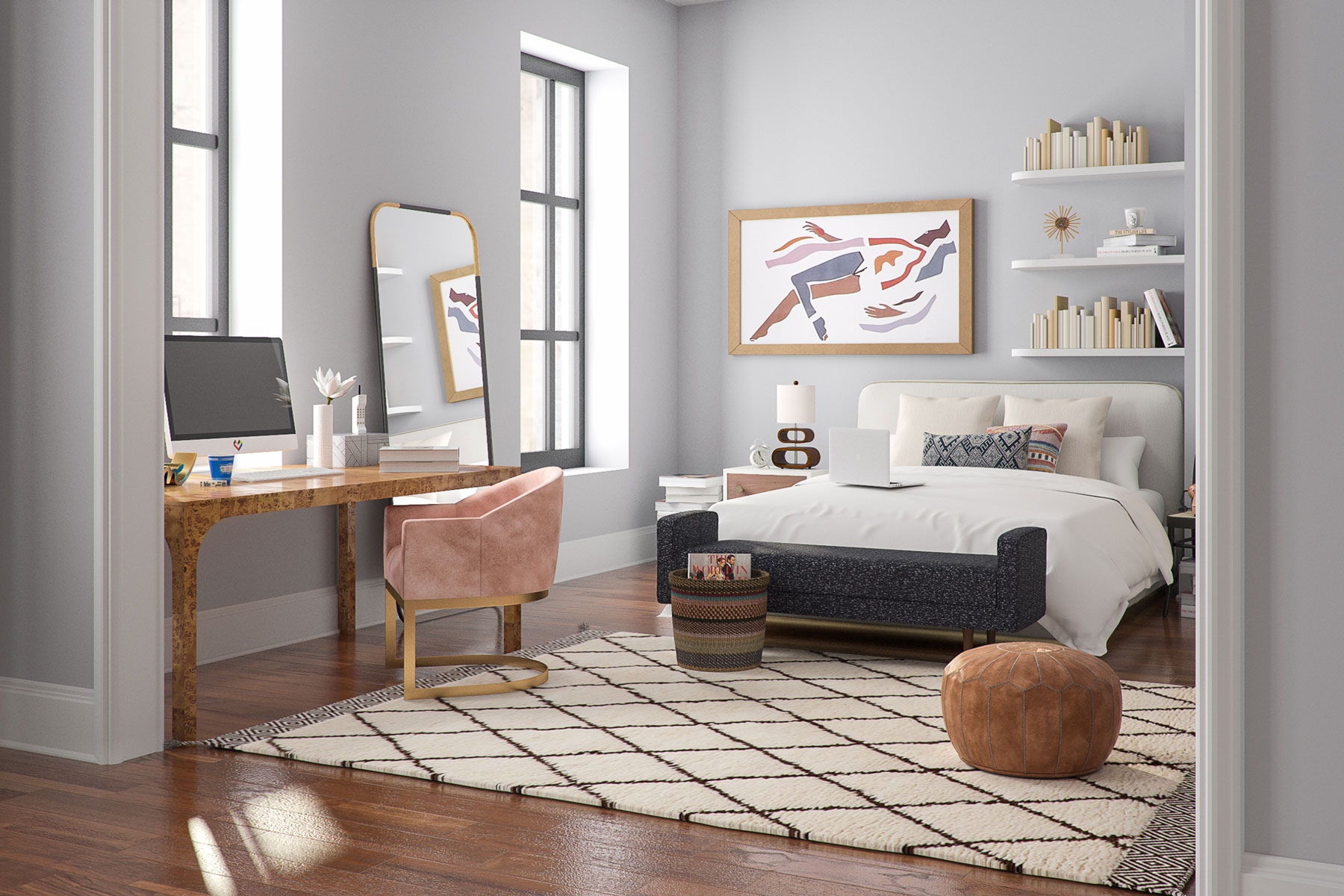 """Carrie Bradshaw Apartment Address: What Carrie's """"Sex And The City"""" Apartment Would Look Like"""