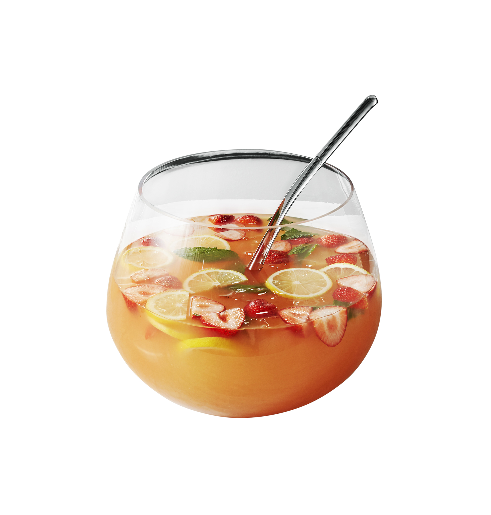 CB2 Punch Bowl with Ladle