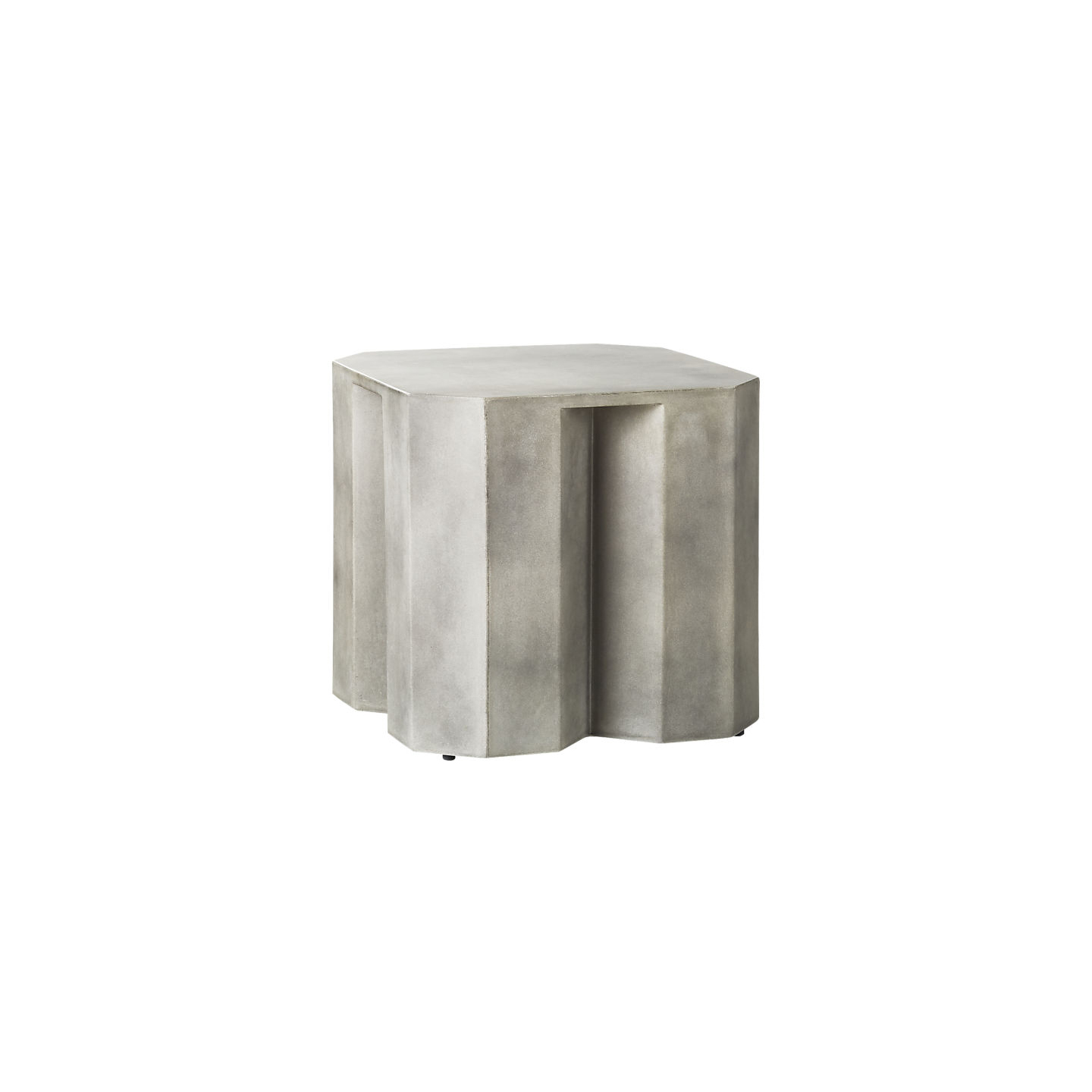 Hex Small Ivory Side Table