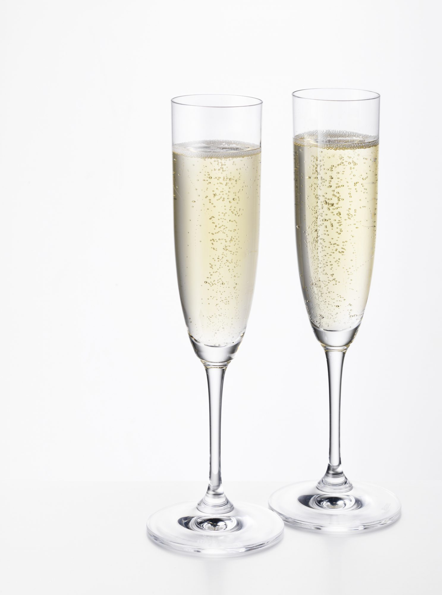 Champagne Flutes, Oscar Party Food
