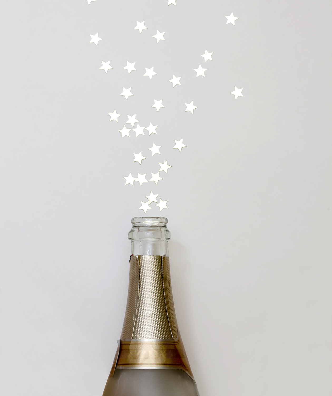 Champagne and stars