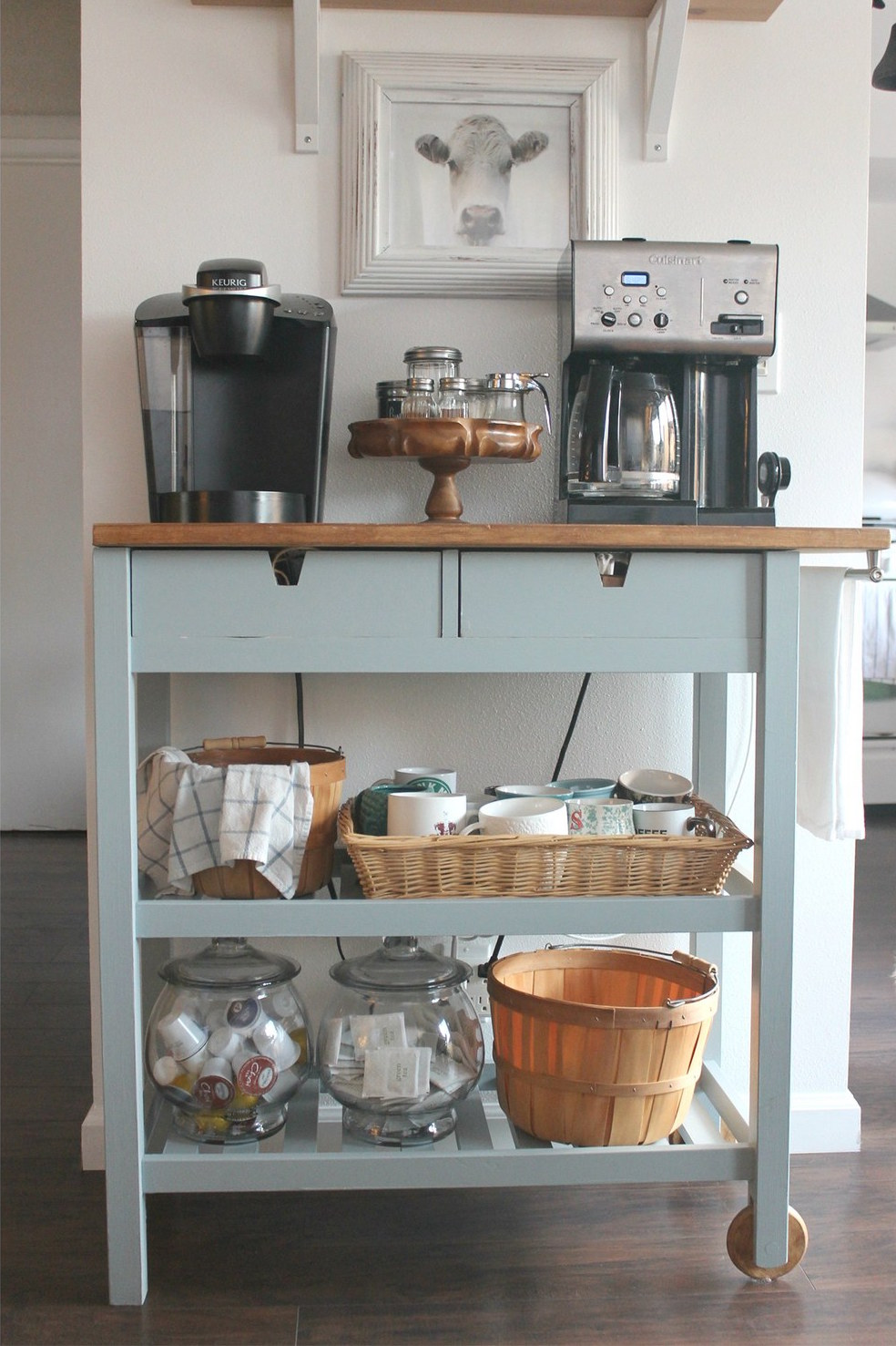 kitchen storage hacks 7 brilliant ikea hacks to organize your kitchen real simple 3149