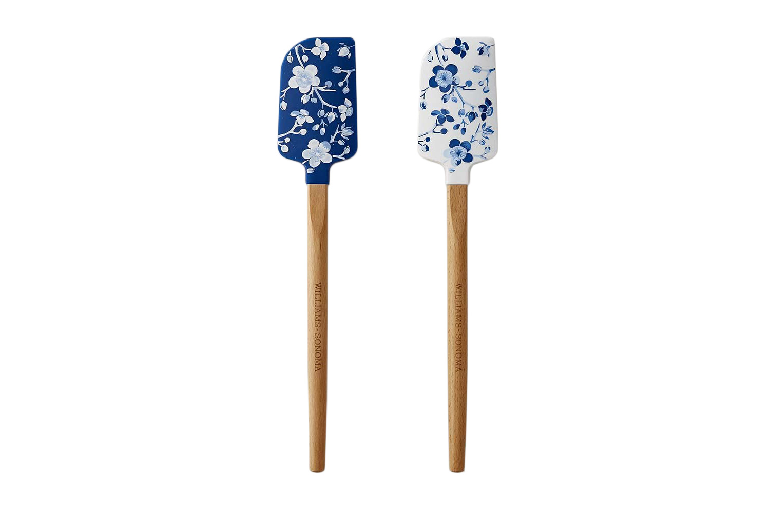Williams Sonoma Cherry Blossom Spatulas, Set of Two