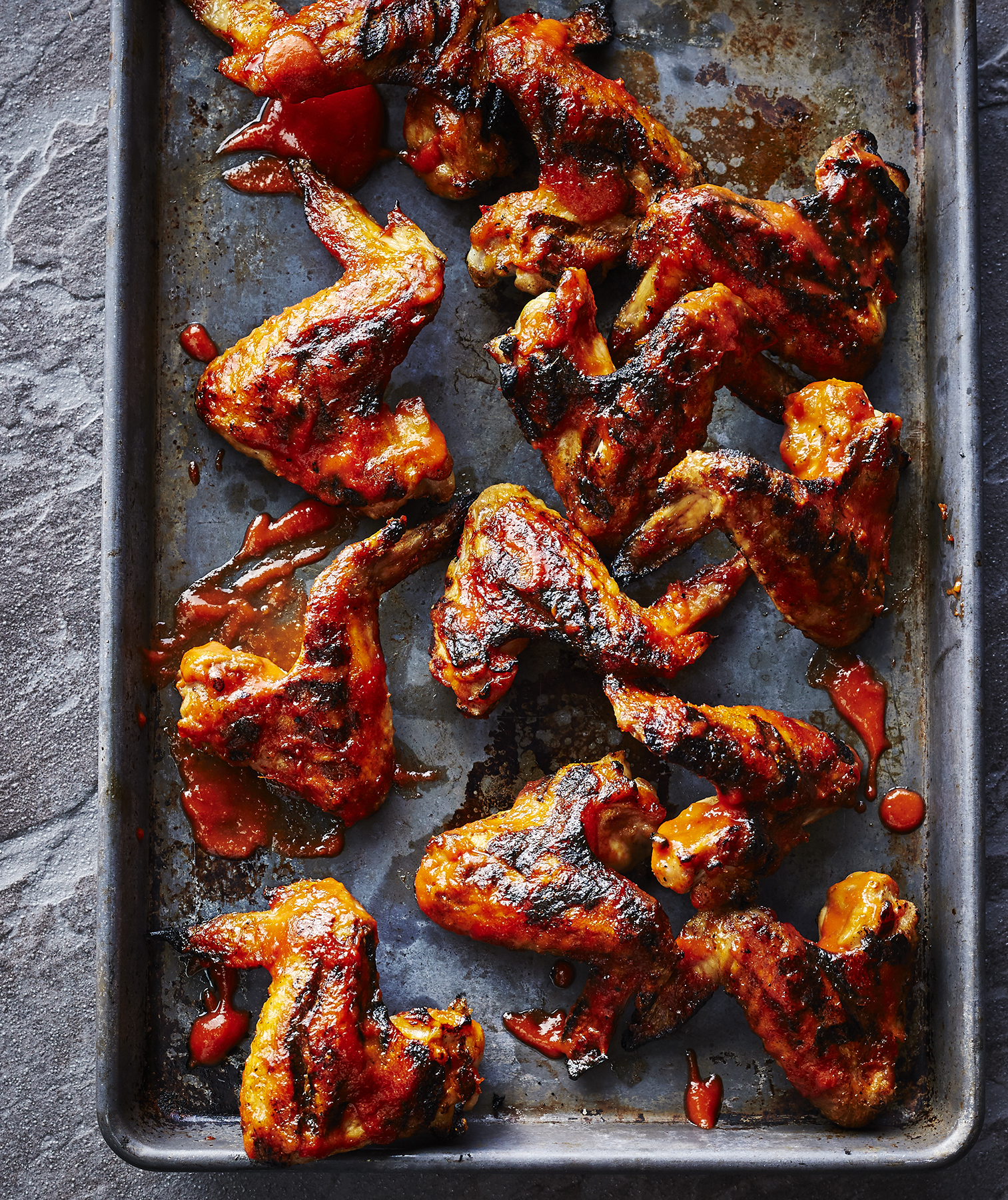 Cherry Bourbon Chicken Wings