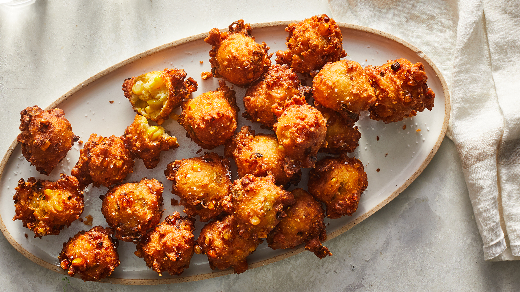 Chile Corn Fritters