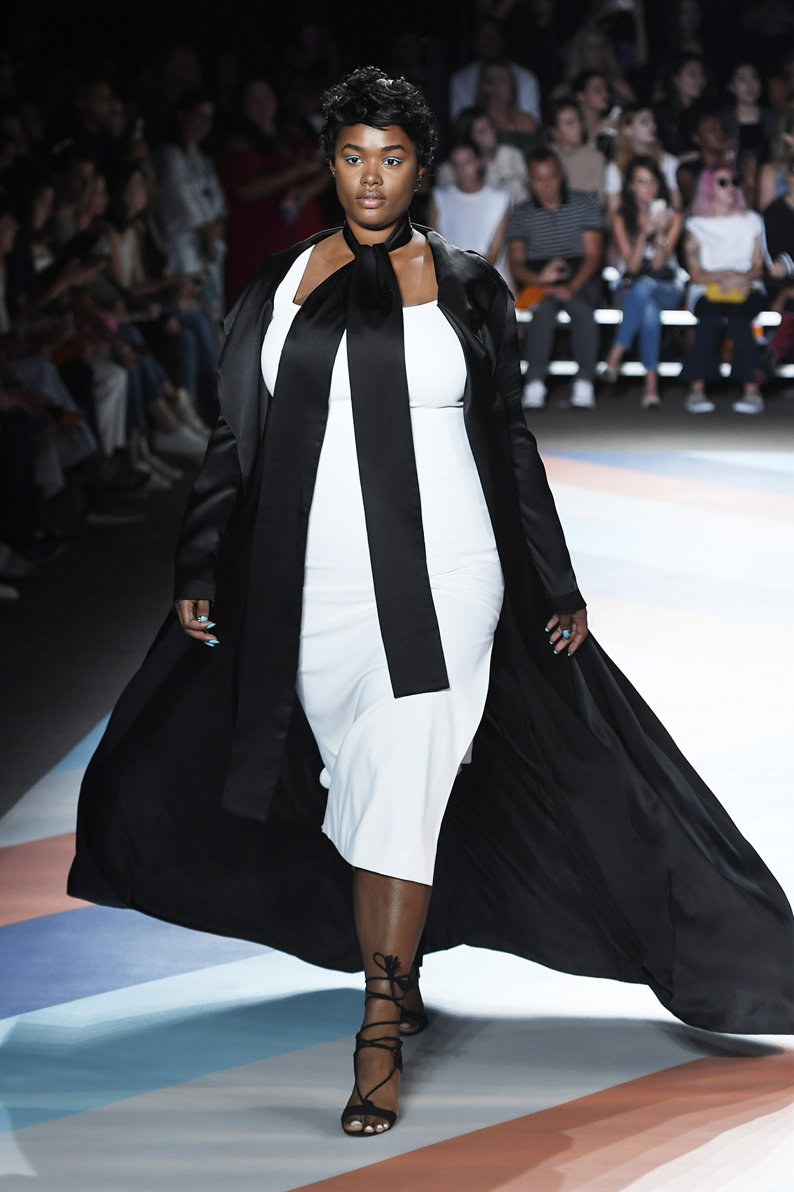 Christian Siriano Runway Model during New York Fashion Week