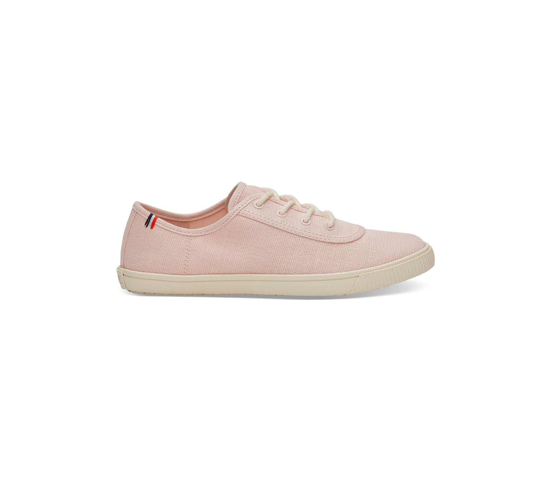 Pink Clare V. x TOMS sneaker